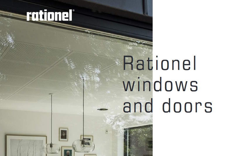 New Rationel Windows & Doors Brochure Available